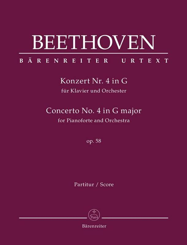 Piano Concerto No.4 In G Op.58, For Pianoforte And Orchestra