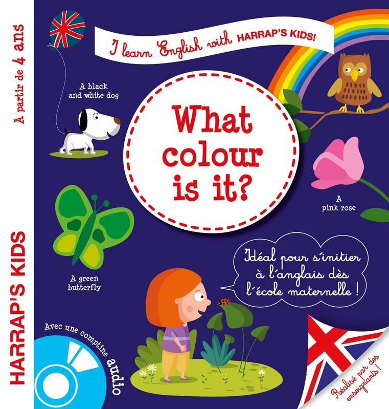 Harrap's I learn english : colors