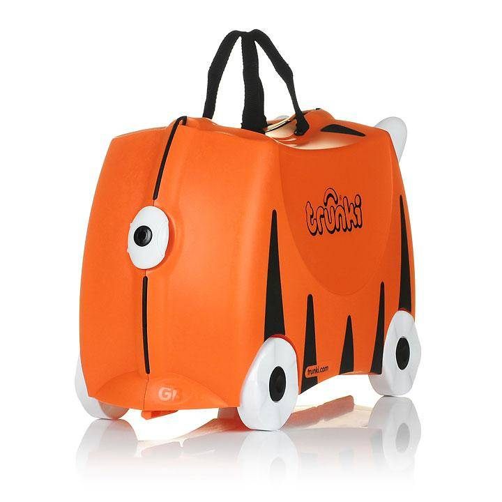 Valise trolley Tigre Trunki ride on