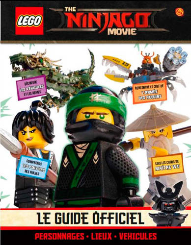 Livre Lego Ninjago Movie Le Guide Du Film Qilinn