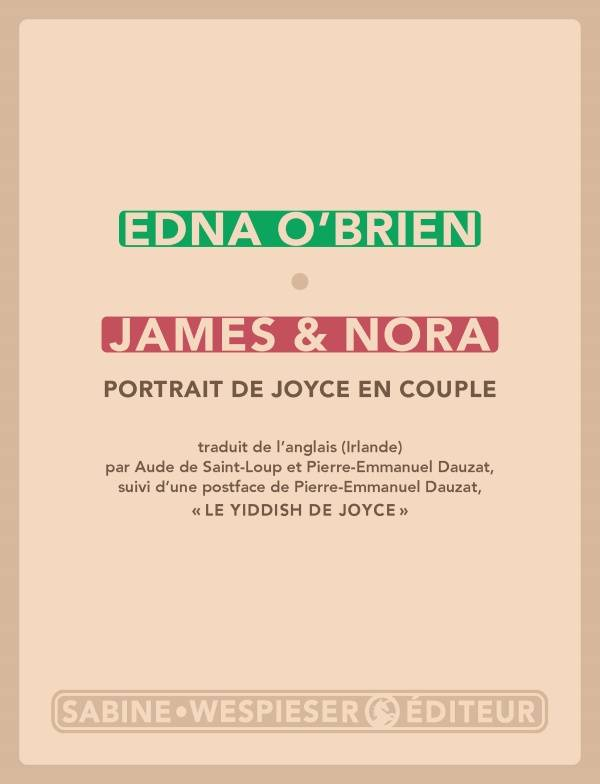James & Nora, Portrait de joyce en couple