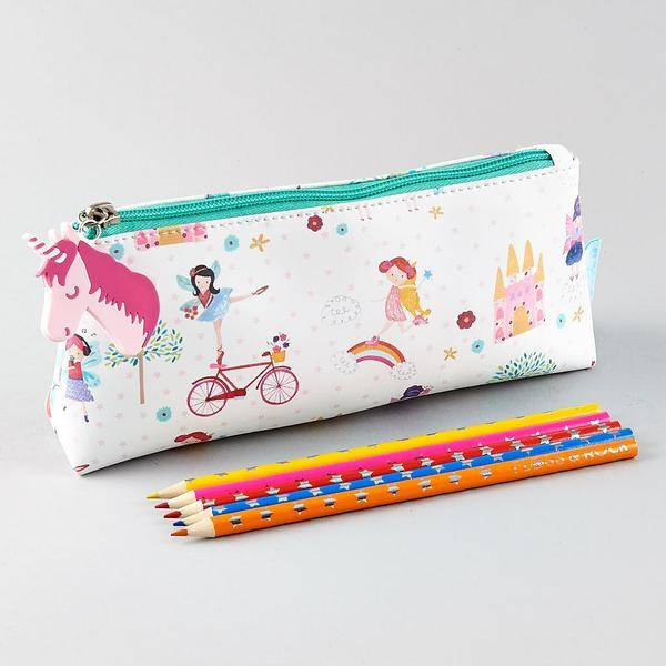 Trousse Licorne, Pencil case Unicorn