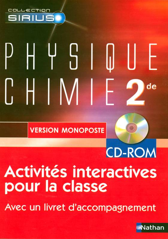 PHYSIQUE-CHIMIE 2E CD-ROM