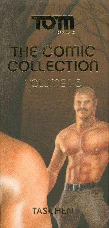 TOM OF FINLAND 5 VOLUME, the comic collection