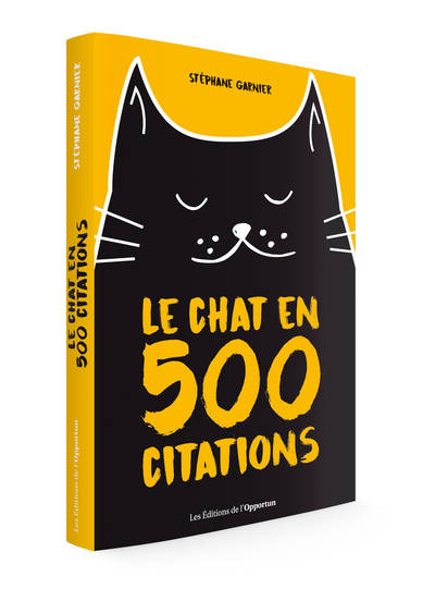 Le chat en 500 citations
