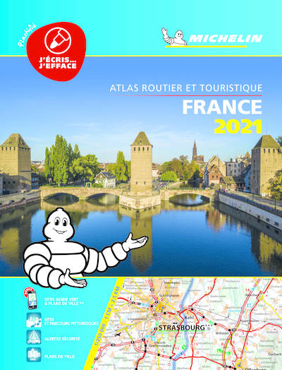 ATLAS ROUTIER FRANCE 2021 PLASTIFIE