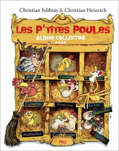 LES P'TITES POULES - ALBUM COLLECTOR T04 (TOMES 13 A 16) - VOL04