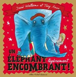 UN ELEPHANT LEGEREMENT ENCOMBRANT