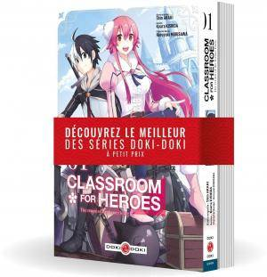 Classroom for heroes / the return of the former brave : pack volumes 1 et 2