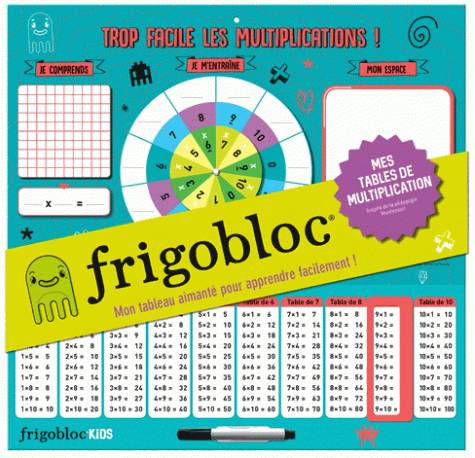 Frigobloc - Mes tables de multiplication