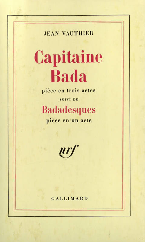 Capitaine Bada / Badadesques