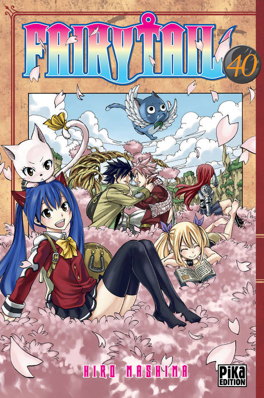 40, Fairy Tail T40