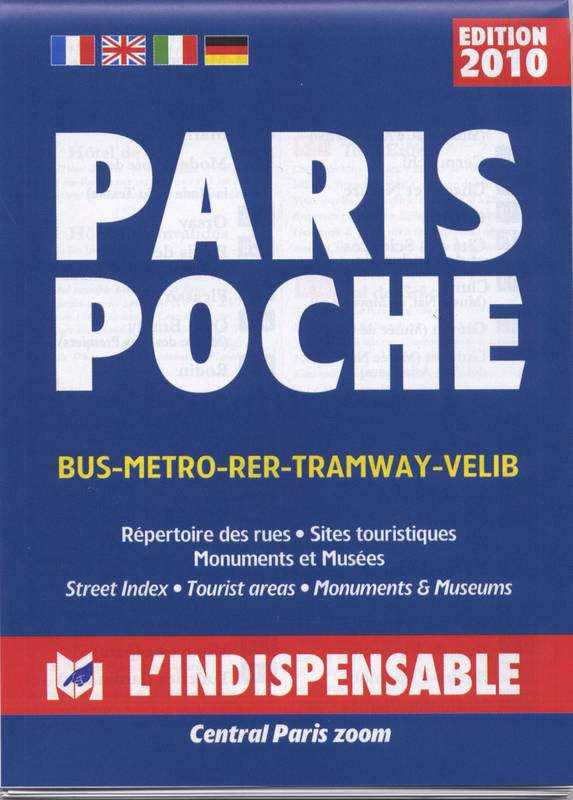 C14 Pocket plan Paris poche