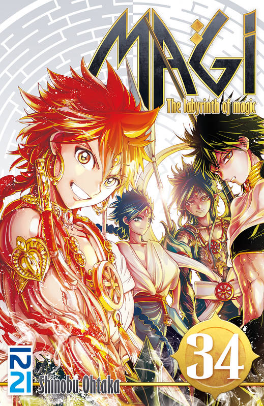 Magi - The Labyrinth of Magic - tome 34