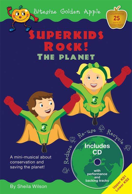 Superkids Rock! The Planet, Bitesize Golden Apple