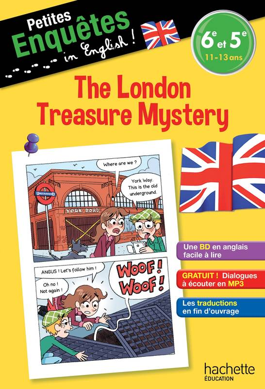 Livre Anglais 6e 5e The London Treasure Mystery Joanna Le