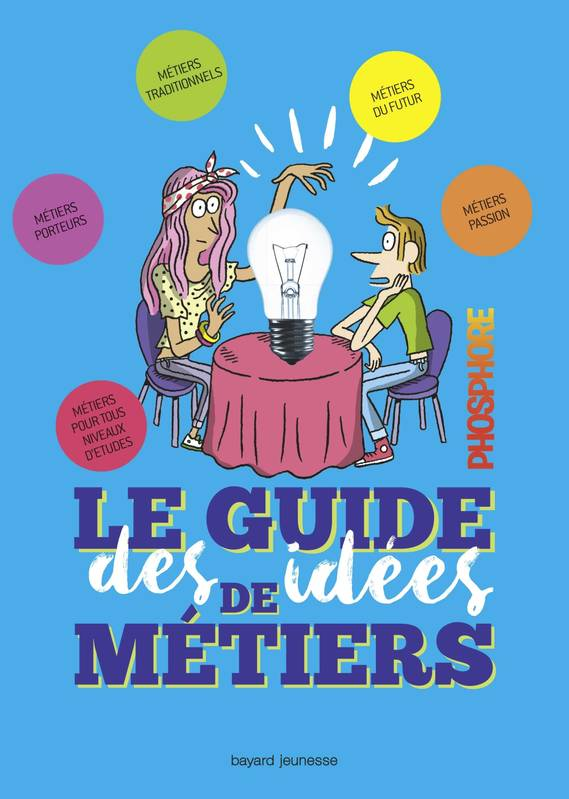 LE GUIDE DES IDEES DE METIERS - PHOSPHORE Edition 2018-2019, Avec Phosphore
