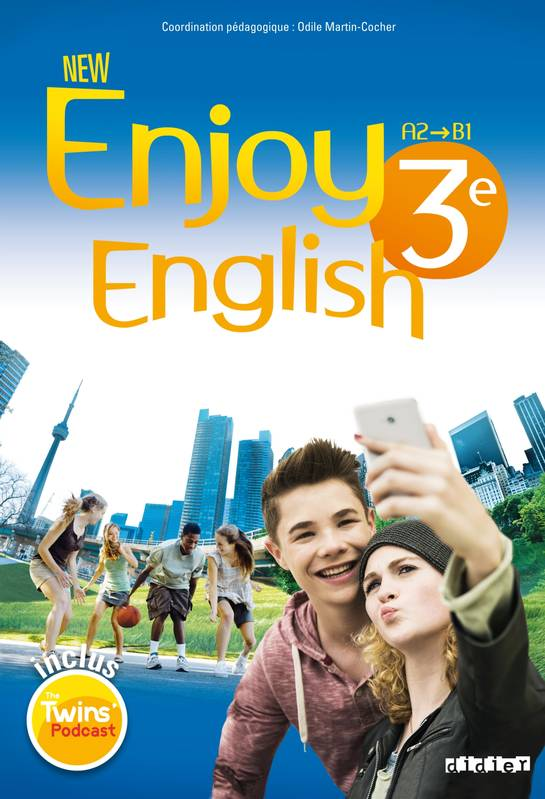 New Enjoy English 3e - Livre + DVD-rom