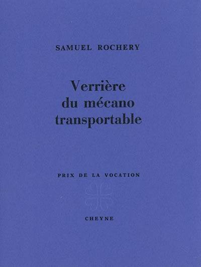 VERRIERE DU MECANO TRANSPORTABLE