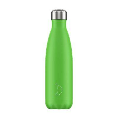 BOTELLA INOX VERDE NEON 500ML