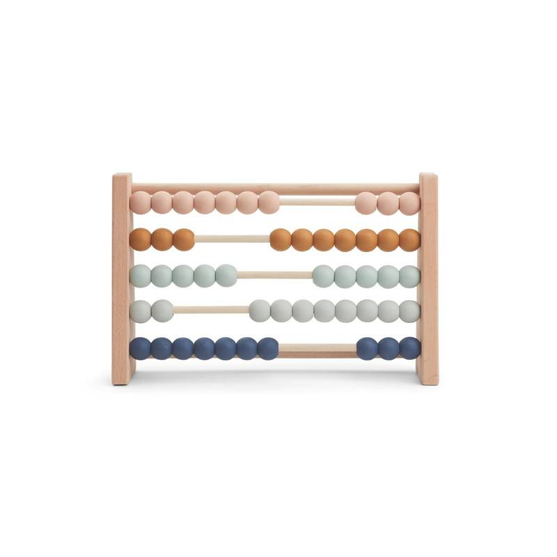 Amy Abacus Boulier en bois Mix naturel