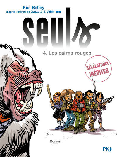 4, Seuls - tome 04 : les cairns rouges