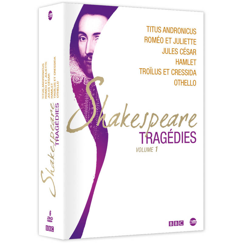 COFFRET SHAKESPEARE TRAGEDIES - 6 DVD