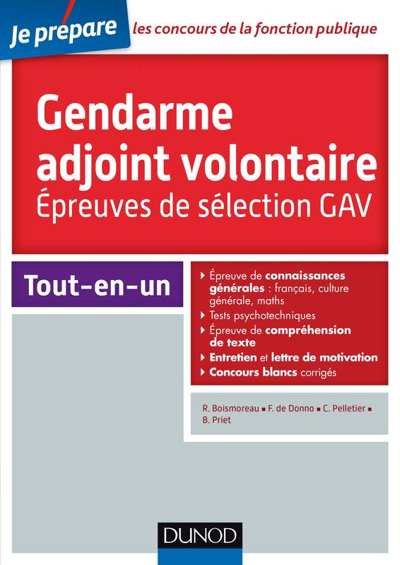 livre concours gendarme adjoint volontaire epreuves de s lection gav cat gorie c epreuves. Black Bedroom Furniture Sets. Home Design Ideas