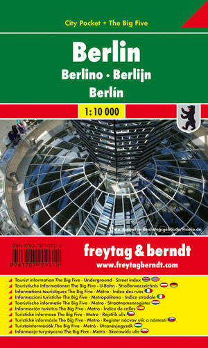 CITY POCKET BERLIN 1:10000