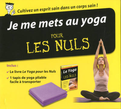livre je me mets au yoga pour les nuls collectif first. Black Bedroom Furniture Sets. Home Design Ideas