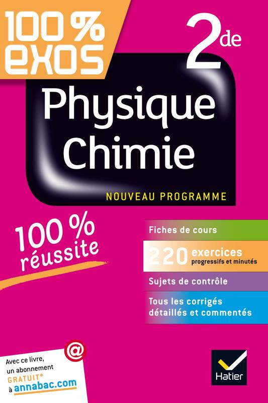 physique chimie seconde corrige