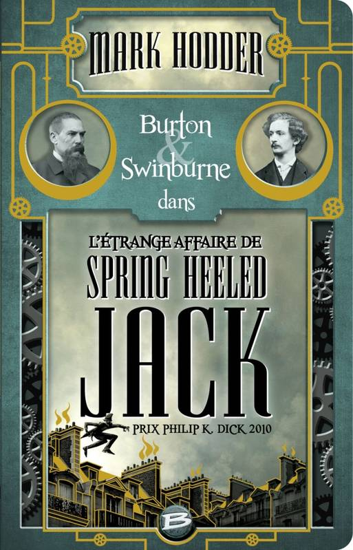 Burton & Swinburne L'Étrange affaire de Spring Heeled Jack, Burton & Swinburne