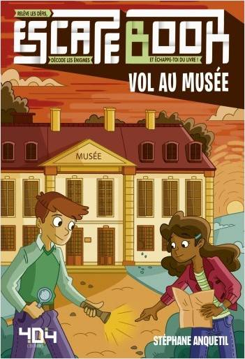 ESCAPE BOOK - VOL AU MUSEE