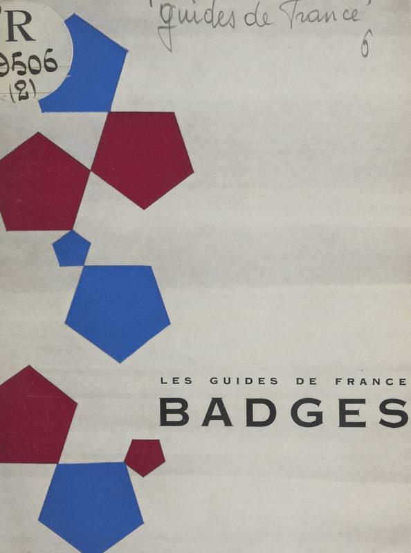 Les Guides de France : badges