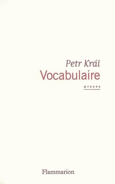 Vocabulaire, proses