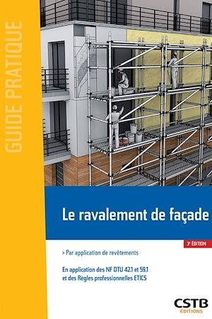 Le ravalement de façade, Par application de revêtements