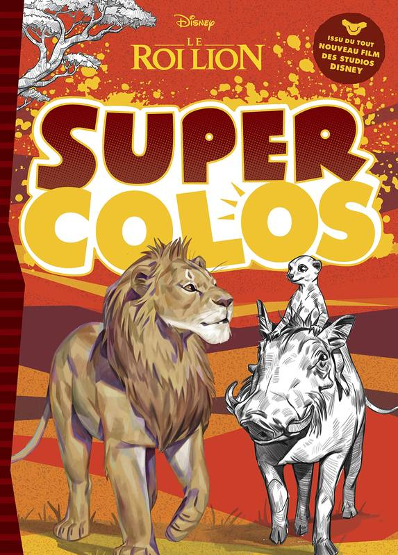 LE ROI LION (LE FILM) - Super Colos - Disney