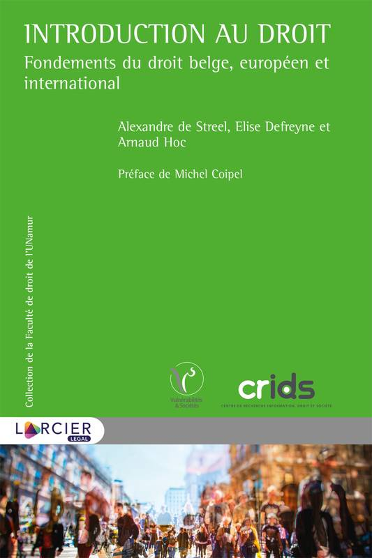 Introduction au droit, Fondements du droit belge, européen et international