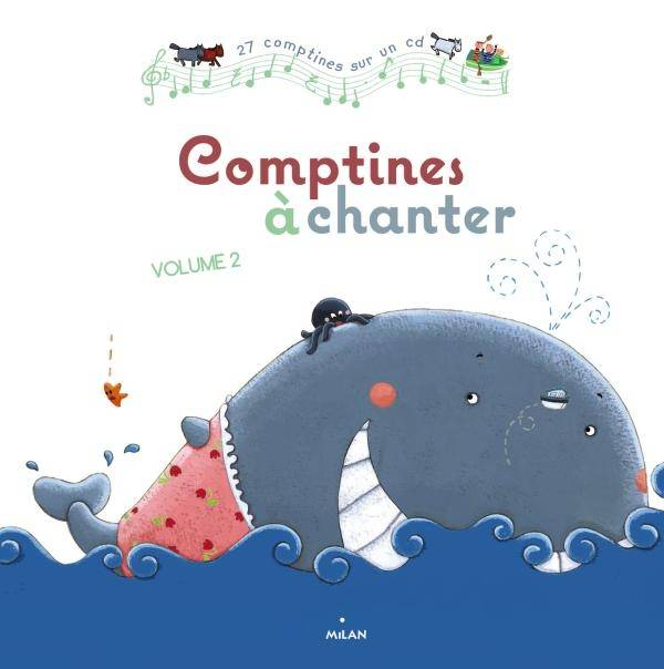 Comptines à chanter, vol. 2 + CD