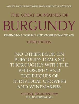 The Great Domaines of Burgundy, (3rd Edition)