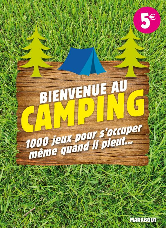 livre bienvenue au camping 1001 jeux pour s 39 occuper m me quand il pleut fabrice bouvier. Black Bedroom Furniture Sets. Home Design Ideas