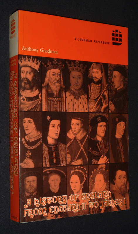 A History of England from Edward II to James I
