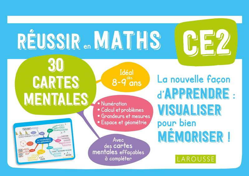 Cartes mentales maths CE2