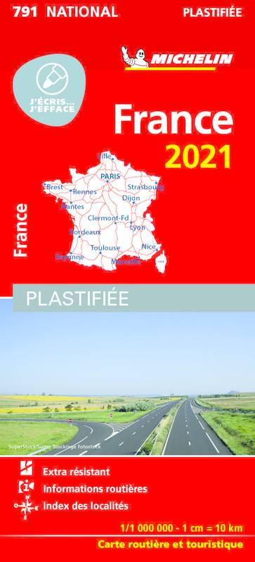 France 2021 Plastifiée