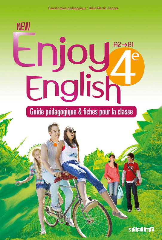 New Enjoy English 4e - Guide pédagogique - version papier + fiches classe