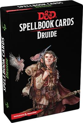 Dungeons & Dragons 5 VF - Spellbook Cards Druide