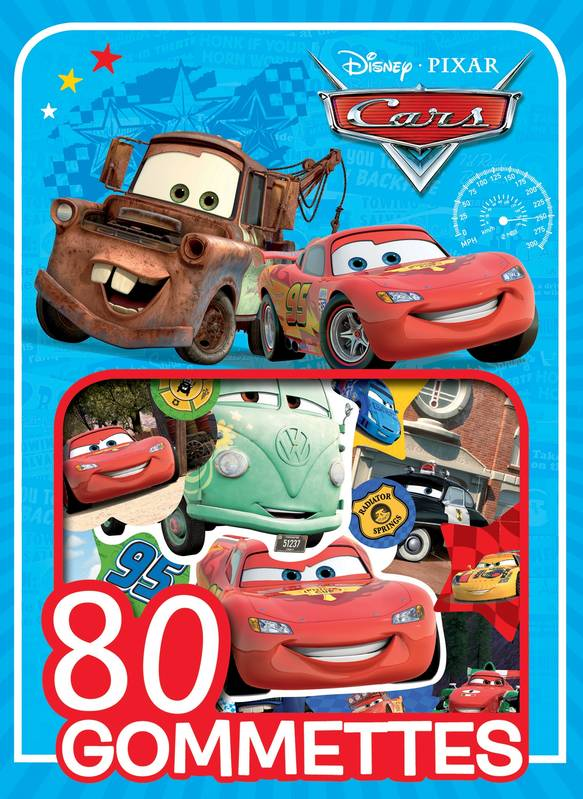 CARS, MES 80 GOMMETTES