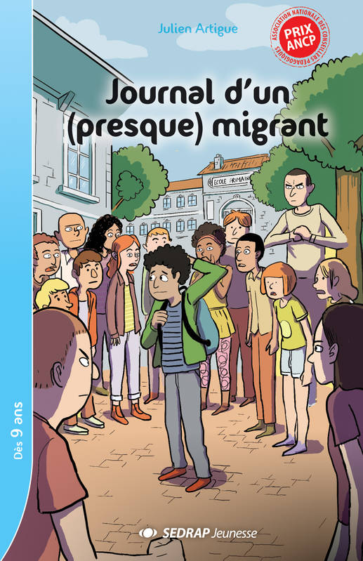 JOURNAL D'UN PRESQUE MIGRANT- LOT DE 5 ROMANS + FICHIER PEDAGOGIQUE