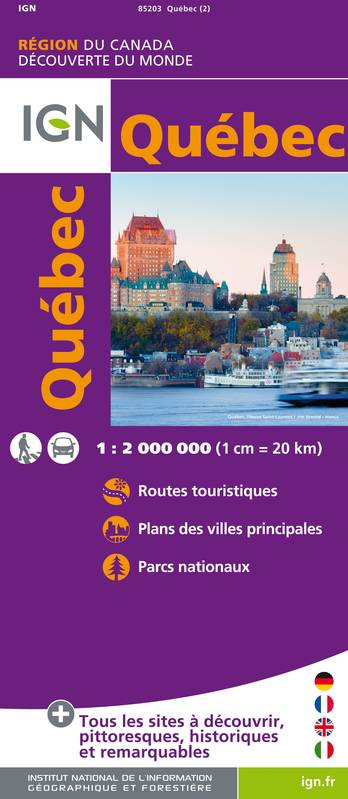 CR Quebec  1/2000000