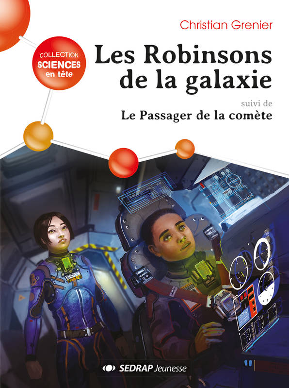 les robinsons de la galaxie - lot de 5 romans